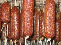Sopressata - Calabria Style this recipe is for 100 lb of pork butt (including bone and fat) 100 lb fresh pork butt 15 - 1 quart jars of red pepper sauce ...